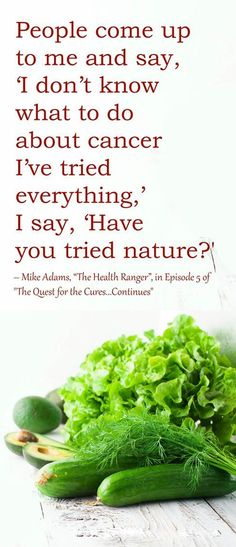 THIS should always be your starting point. Great advice by Mike Adams aka The Health Ranger // The Truth About Cancer //