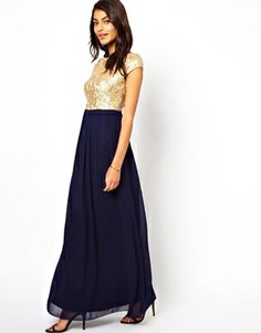 This dress would be perfect for holiday parties.