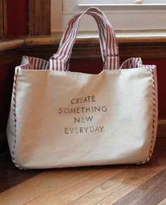 Bag tutorial ... Like to make this #tote #bag
