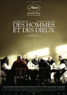 (B) Tip van Ine, 4*: Des hommes et des dieux (2010) Under threat by fundamentalist terrorists, a group of Trappist monks stationed with an impoverished Algerian community must decide whether to leave or stay. - 7,2 op IMDB http://www.imdb.com/title/tt1588337/?ref_=fn_al_tt_1