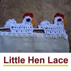 Crochet For Children: Little Hen Lace