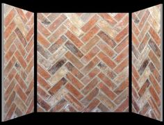 Brick Boards heat resistant insulating panels made from real brick slips - Chamber Set Options / Price List