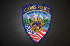 Clovis Police Patch, Fresno County, California (Current 2003 Issue)