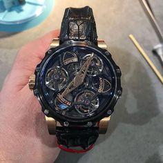 "709 Likes, 10 Comments - Haute Horlogerie (@haulogerie) on Instagram: ""Antoine Preziuso's Tourbillon of Tourbillons is an absolute masterpiece of haute horlogerie, no…"""