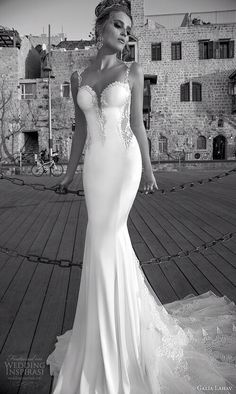 I just can't have a normal puffy wedding dress with rhinestones, it just has to be deferent !