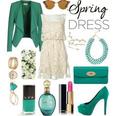 A fashion look from April 2016 featuring Alice + Olivia dresses, Patrizia Pepe blazers and Jessica Simpson pumps. Browse and shop related looks.