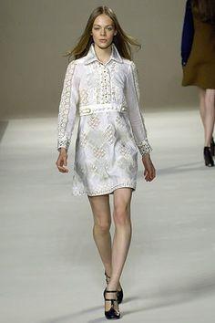 Chloé Spring 2007 Ready-to-Wear Fashion Show - Kinga Rajzak (IMG)