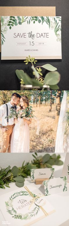 Hochzeitspapeterie im Greenery Look. Hier gewinnt das Papier durch den schimmernden Perlmutt Effekt des Papiers.#papeterie #paperlove #wedding #hochzeit #hochzeitspapeterie #einladung #hochzeitseinladung #weddinginvitation #invitation #kartenmacherei