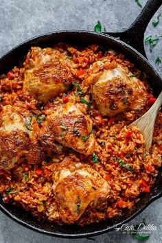 This One-Pan Tomato-Basil Chicken and Rice Is a Dinner Miracle — Delicious Links | The Kitchn | Bloglovin'