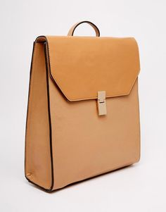 Image 2 of ASOS Clean Boxy Backpack