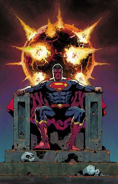 SUPERMAN #34  Written by PETER J. TOMASI and PATRICK GLEASON  Art by DOUG MAHNKE and JAIME MENDOZA  Cover by PATRICK GLEASON  JUSTICE LEAGUE variant cover by RENATO GUEDES