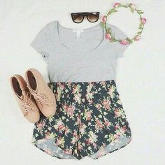 The crown, the shorts, the tee- I'd myself, pair with converse though
