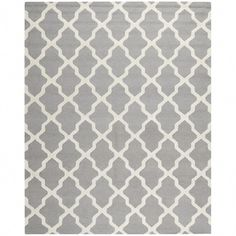 Shop for Safavieh Handmade Cambridge Luisa Modern Moroccan Wool Rug. Get free delivery On EVERYTHING* Overstock - Your Online Home Decor Store! Cambridge, Rug Texture, Quatrefoil, Accent Rugs, Geometric Designs, Tile Patterns, Wool Area Rugs, Wool Rugs, Carpet Runner