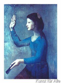 Pablo Picasso - Frau mit Fächer, 1905