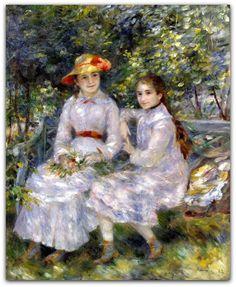 Pierre-Auguste Renoir  Marie-Thérese e Jeanne Durand Ruel 1882  http://gabineted.blogspot.com.br/…/paul-durand-ruel-aposta-…  Seguindo vários acontecimentos recentes dedicados a negociantes de arte influentes, como Henri Kahnweiler, Ambroise Vollard ou Theo Van Gogh, a exposição tem como objetivo destacar o papel de uma figura eminente do impressionismo, cujas escolhas e gostos radical tiveram um grande impacto sobre o reconhecimento de artistas e sua inclusão no cânon da arte moderna.