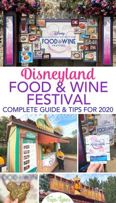 Disneyland Food & Wine Festival Tips, Tricks, & What to Know Before You Go - Trips With Tykes Disneyland Secrets, Disneyland Food, Disneyland Resort, Disney Vacation Planning, Disney World Vacation, Disney Vacations, Disney California Adventure Park, Disneyland California, California Travel