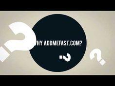 AddMeFast - FREE Social Promotion Presentation Video