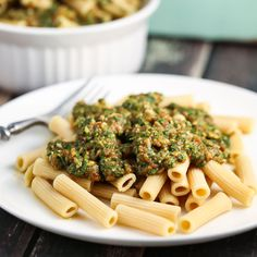 Herb and Garlic Penne