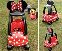 Minnie Mouse Baby Car