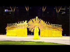 ▶ Chinese Hearing Impaired Dancers--Thousand Hand Bodhisattva - YouTube-  at paralympics