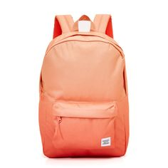 Herschel Supply Co. Classic Backpack ($45) ❤ liked on Polyvore featuring bags, backpacks, dusk, pocket backpack, herschel supply co backpack, ombre bag, day pack backpack and knapsack bags