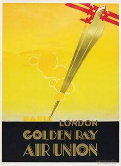 Image detail for -deco aviation england flying golden ray london maurus travel travels
