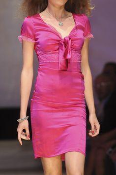 Hot pink dress <3