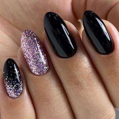 52 winter nail colors and designs, mismatched nail colors, mismatched nail desig. - Winter Nails Acrylic - Nagellack Ideen 52 winter nail colors and designs, mismatched nail colors, mismatched nail desig… – Winter Nails Acrylic - Water Best Acrylic Nails, Acrylic Nail Designs, Nail Art Designs, Acrylic Colors, Nails Design, Blog Designs, New Years Nail Designs, Black Nail Designs, Cute Nails
