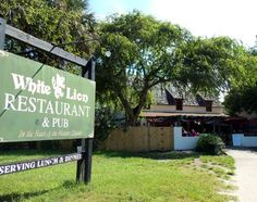The White Lion Restaurant and Bar in St. Augustine Florida