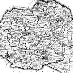 harta_romania_mare_1936 Romania, City Photo