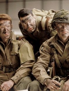 Band Of Brothers Characters, We Happy Few, Screaming Eagle, Army Ranks, Military Gear, Film Stills, Movies Showing, Armed Forces, World War