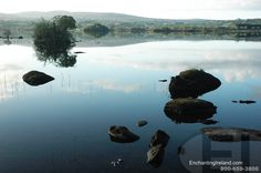 Harvey's Point, Donegal, Ireland - beautiful, serene lake from the Harvey's Point Hotel