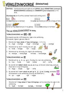 by admin Bookbuzz - issuu 1st Grade Worksheets, Preschool Worksheets, Afrikaans Language, Pre Primary School, Activities For Boys, Teaching Aids, Study Notes, School Resources, Grade 3