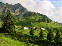 Mountain View from an Austrian summer vacation