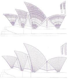 Jørn Utzon, Sydney Opera House | - Plans & Sections - | Pinterest ...