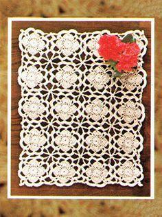 Items similar to PDF Vintage SUZETTE Tablecloth Runner Crochet Pattern Robin 2679 Doily Ladies Lace Motif Home Decor Placemat Retro Heirloom Victoriana on Etsy Retro Home Decor, Easy Knitting, Vintage Knitting, Rockabilly, Hawaiian, Robin, Knit Crochet, Crochet Patterns, Pdf
