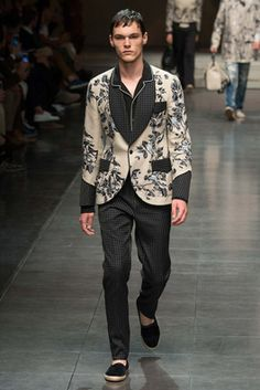 Dolce & Gabbana Spring 2016 Menswear Fashion Show: Complete Collection - Style.com