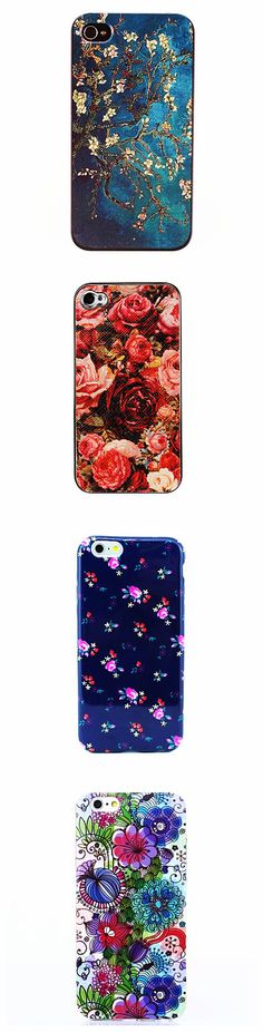 They are not just iPhone cases. They are like a master piece of art! Like the flowers on the cases? They are blooming on you phone! Check out to meet your specific taste!