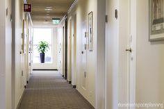 Street - Bühlmann Airport Hotel interior design in Aalborg, Denmark - by Danielsen Spaceplanning