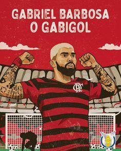 O artilheiro do @brasileirao mudou de cidade, mas está de volta para defender o seu posto! E o @flamengo conta com Gabigol para sonhar alto…