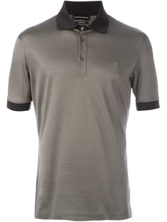 f22a448a945eb ALEXANDER MCQUEEN Embroidered Logo Polo Shirt.  alexandermcqueen  cloth   shirt
