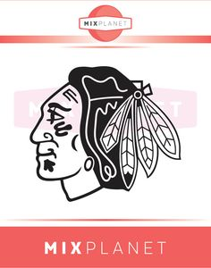 Chicago Blackhawks Cut Files Chicago Blackhawks SVG by mixplanet