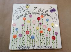Teacher Gift created by Out On A Whim - Paint Your Own Pottery Studio