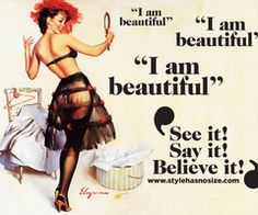 """I am beautiful"" - Style has No size"