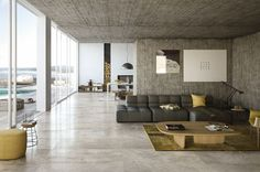 Urban living design: City and Mile_Stone by Porcelaingres
