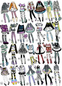 Finally I had time to do another 28 pack pastel goth/grunge themed outfits!I am excited as always     NO: Payment plans,HOLDS (send payment in 24 hours), Claim design as your own, Tr...