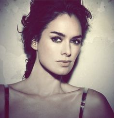 Lena Headey - the younger her reminds me of Keira Knightley