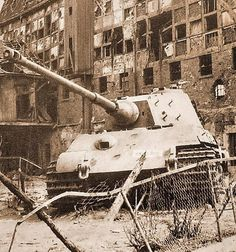 Tiger II abandoned after heavy fighting Tiger Ii, Tank Wallpaper, Tank Armor, Ww2 History, Tiger Tank, Ww2 Photos, Ardennes, Military Pictures, Ww2 Tanks
