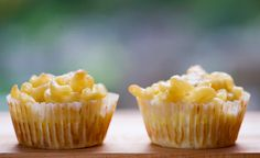 Macaroni and Cheese Cupcakes from Framed Cooks