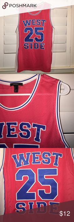 CUTE Fashion Jersey - West Side 25 | NWOT CUTE Fashion Jersey - West Side 25 | NWOT | perfect Condition | Never Worn | No Stains | No Tears Forever 21 Tops
